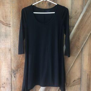 Motherhood Maternity 3/4 sleeve black shirt size S